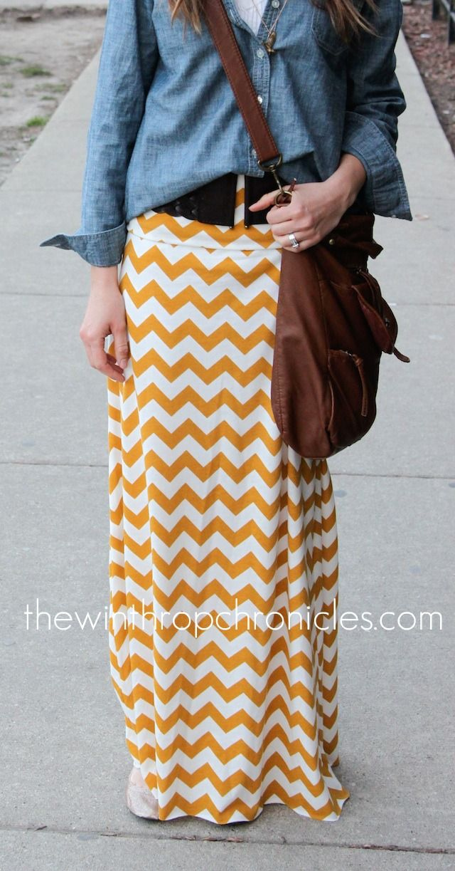 the winthrop chronicles maxi skirt tutorial diy