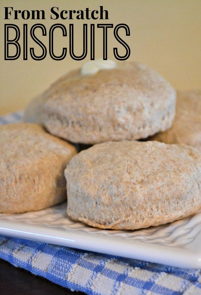 how to make healthy biscuits from scratch