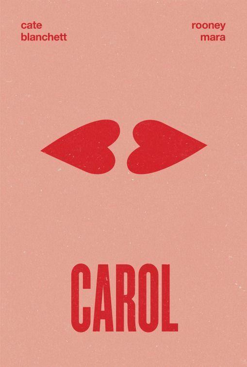 Carol #Valentine's Day Movie Poster