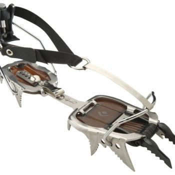 Crampons for snow and ice to make sure I don't slip