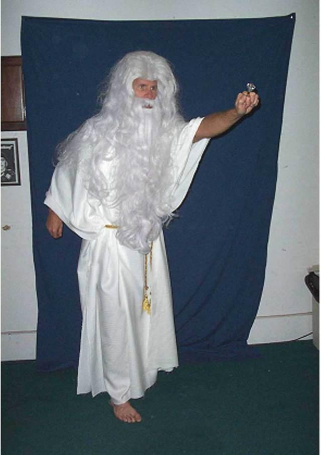 Another Zeus Costume