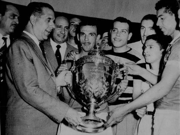 Campeão mundial em 1951. Com uma vitória sobre a Juventus de Turim, Palmeiras foi campeão da Copa Rio em 1951, título reconhecido como mundial pela Fifa (Divulgação/Palmeiras)