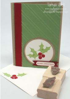 Holly carved by Tanya Bell: Christmas Cards, Stamping, Undefined Stampin, Stampinup Undefined, Card Ideas, Cards Ect, Undefined Stamps, Stampin Up Cards