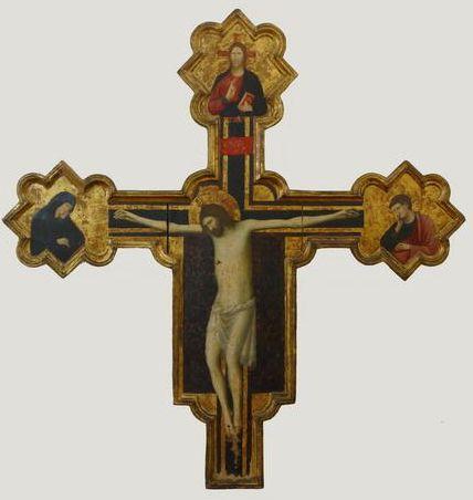Giovanni da Rimini  1309  chiesa di San Francesco, Mercatello sul Metauro