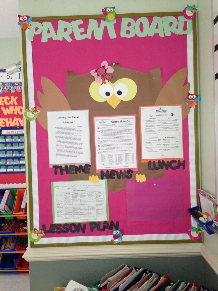 Parents Info Board... @Aimée Gillespie Lemondée Gillespie Driver