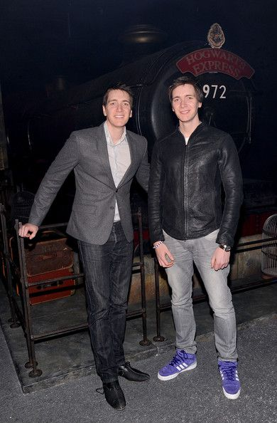 James & Oliver Phelps (Fred and George, or is it George and Fred?) - Now