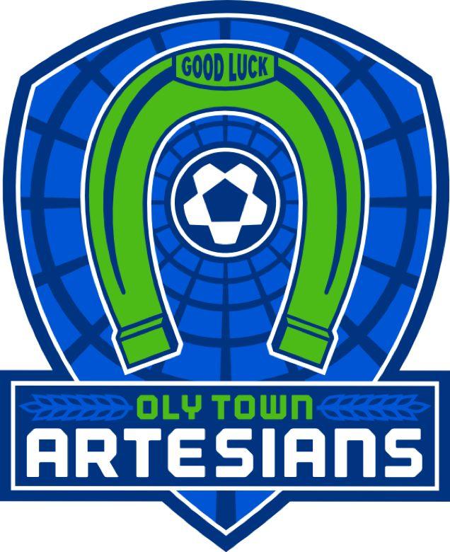 Oly Town Artesians (Olympia, Washington) Olympia Indoor Soccer Center #OlyTownArtesians #OlympiaWashington #WISL (L9292)