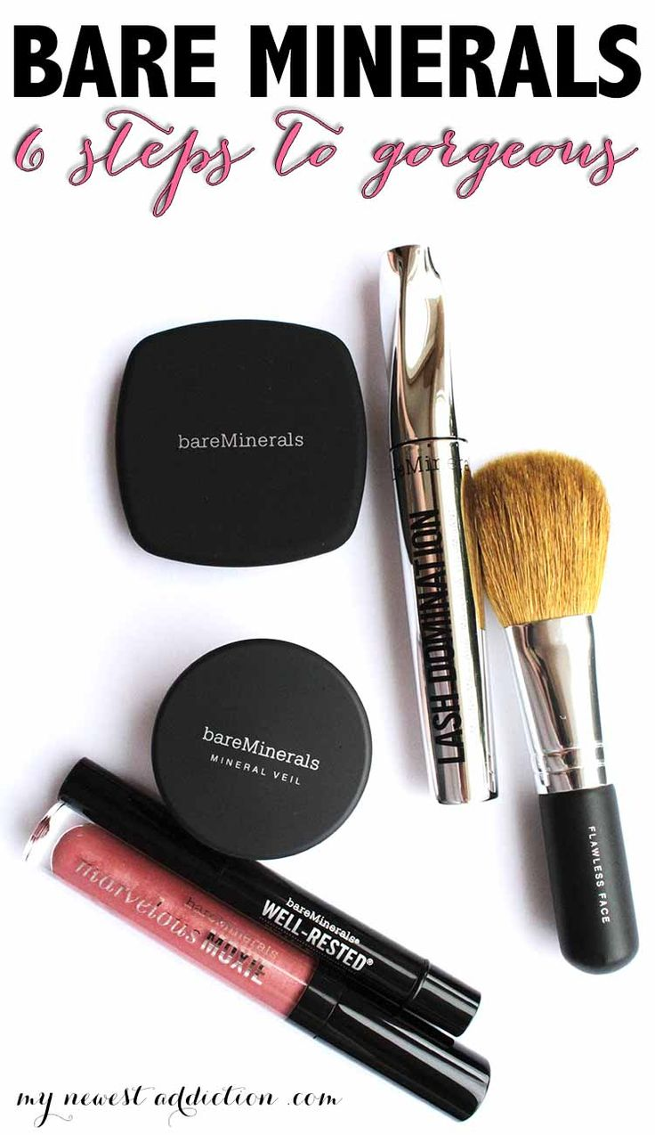 Bare Minerals 6 Steps To Gorgeous is everything you need for the face, eyes and lips to get a fabulous look. It is the best way to try the brand.
