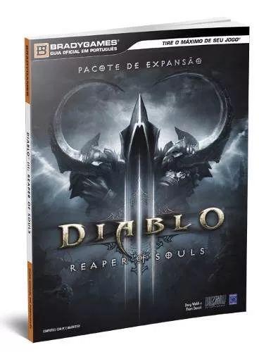 diablo 3 iii livro guia oficial reaper of souls p/ pc novo