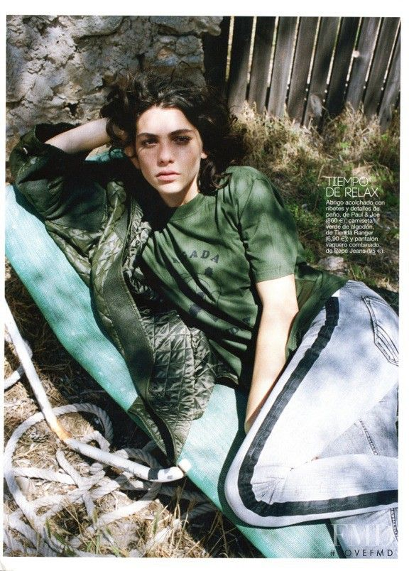 El Final Del Verano in Glamour Spain with Steffy Argelich - Fashion Editorial | Magazines | The FMD #lovefmd