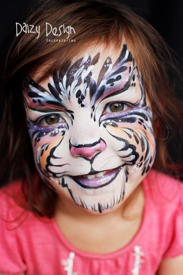 Face Painting Images Tiger - Defendbigbird.com