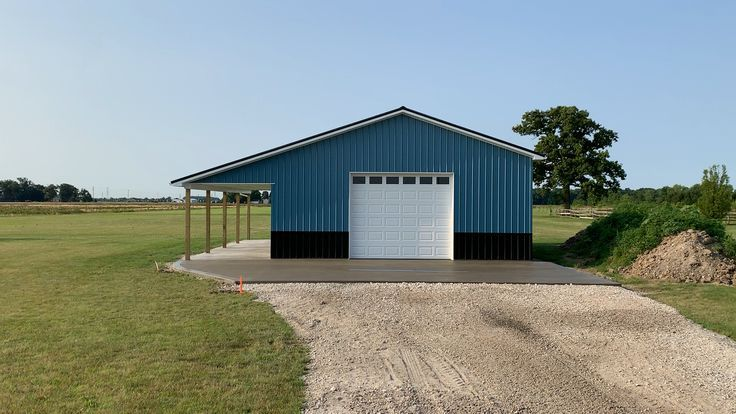 Garage Plans With Overhang House Plans Building A Pole Barn Barn House Design Metal Garage Buildings