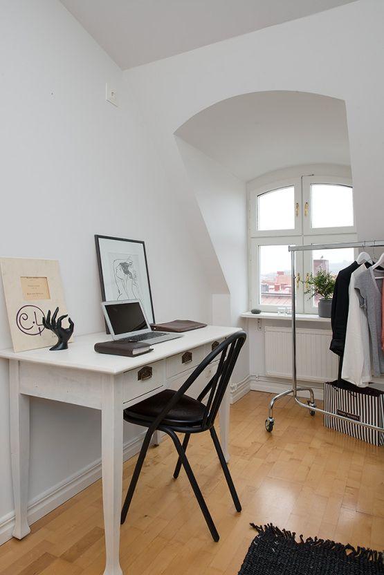 Clean/simple Desk In Bedroom