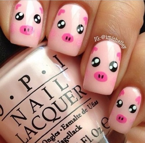 So cute #nailart