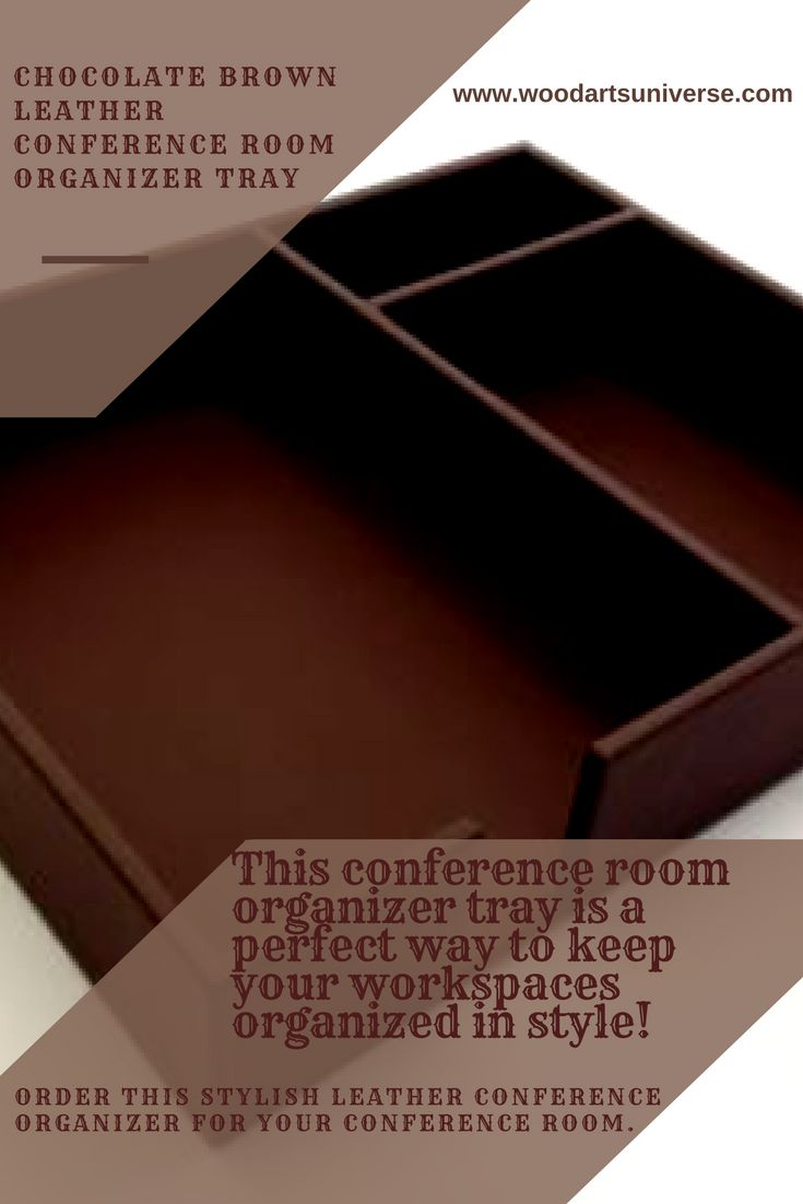 Upto 65% off This conference room organizer tray is a perfect way to keep your workspaces organized in style! The genuine top-grain leather organizer is designed for your conference room, credenza, or #office . #freeshipping