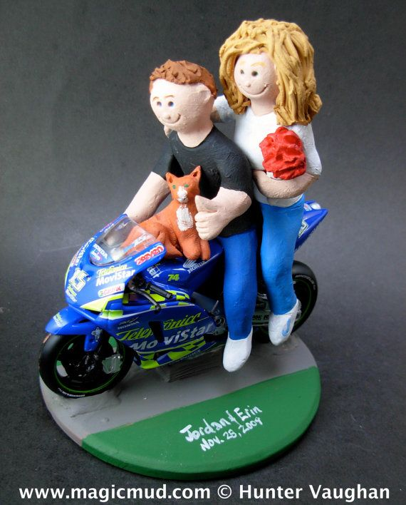 motorcycle wedding cake toppers unique 1000 images about motorcycle wedding cake toppers on 17617