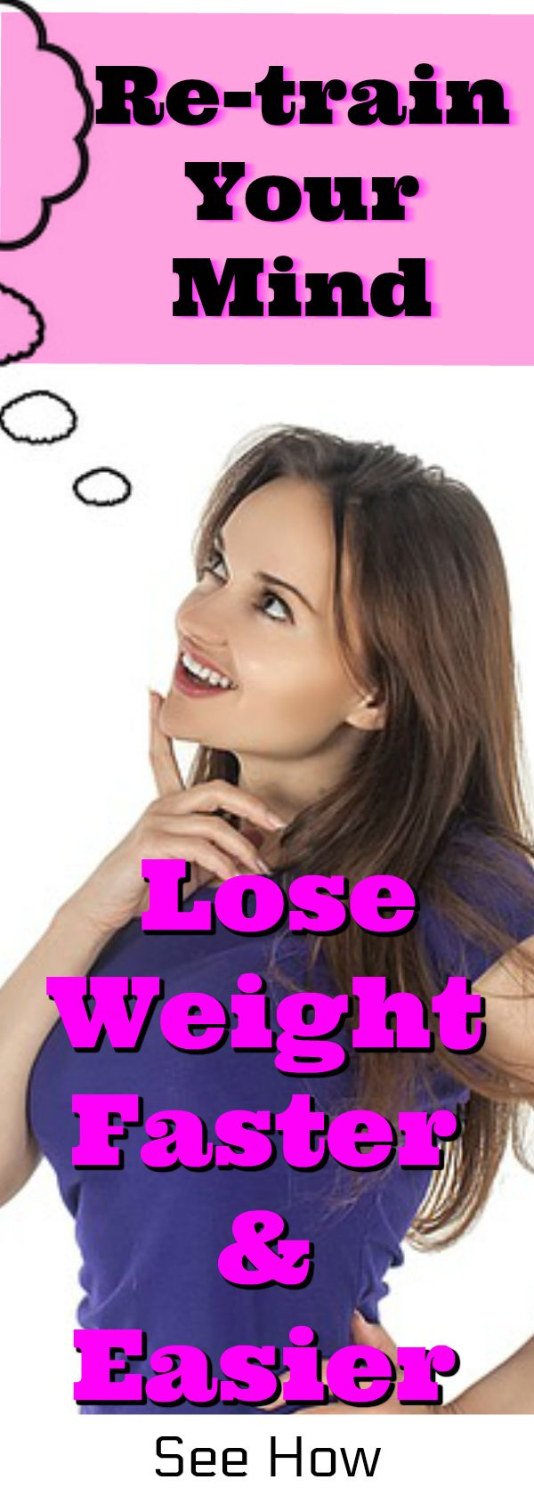 Mind Training for weight loss motivation. How to train your brain, brain training for quickest way to lose weight.