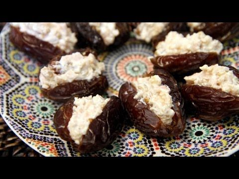 Savory and Sweet Stuffed Dates Recipe - CookingWithAlia - Episode 215