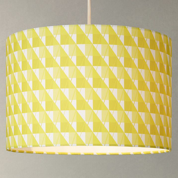 Buy House by John Lewis Chroma Lampshade, Dandelion, 35cm Online at johnlewis.com