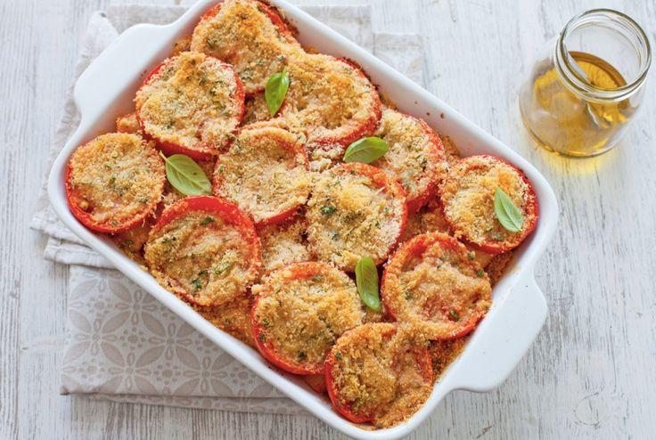Pasta e pomodori al forno ricetta