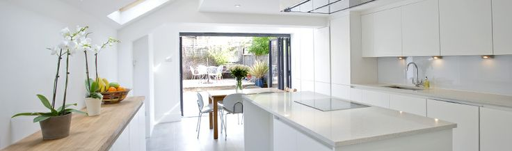 kitchen side return extension - Google Search
