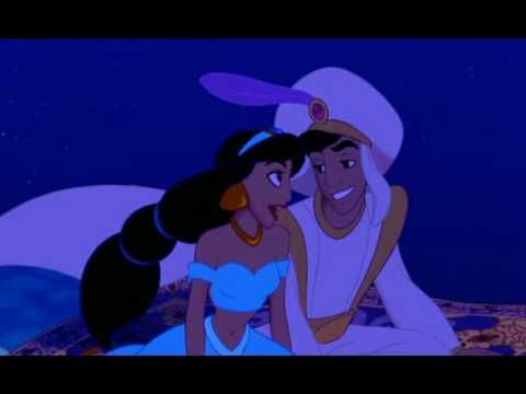 A Whole New World ~ Aaron sings this song to me all the time, always out of the blue & it always puts a smile on my face :-)