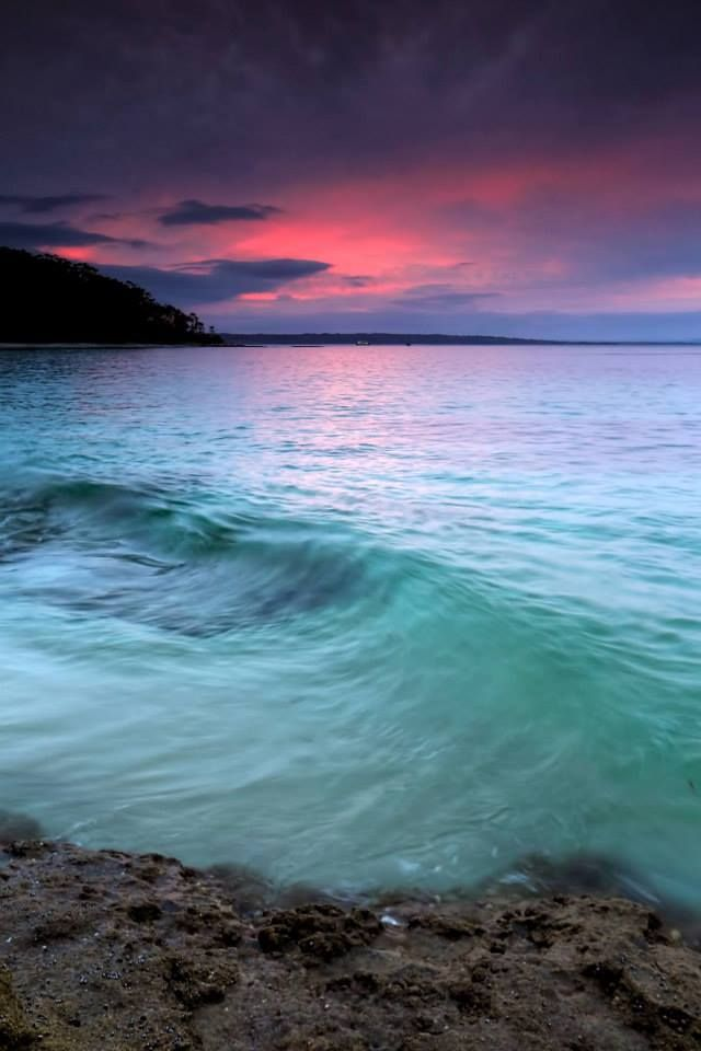 Turquoise Water, Jervis Bay Sunset beach, Australia