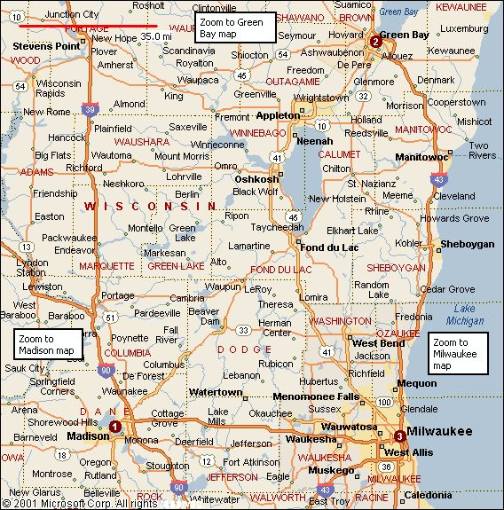 Wisconsin Cities Alphabetical Alphabetically Cities Map Of - Road map of wisconsin