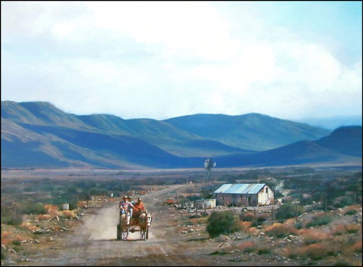 The preferred transport of the Karoo farm workers