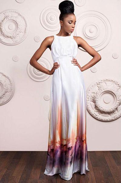 Атласные платья – тренд каждого сезона