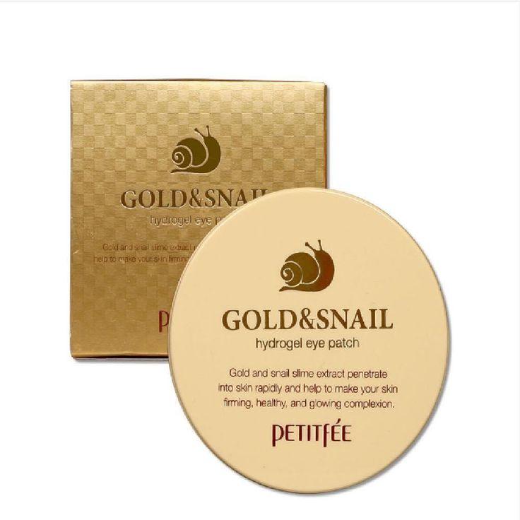 PETITFEE Gold & Snail Hydrogel Eye Patch (60pcs) - Korea Cosmetic  Eye Treatment | Health & Beauty, Skin Care, Eye Treatments & Masks | eBay!