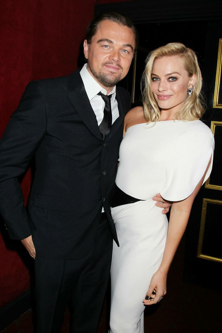 Leonardo DiCaprio and Margot Robbie.