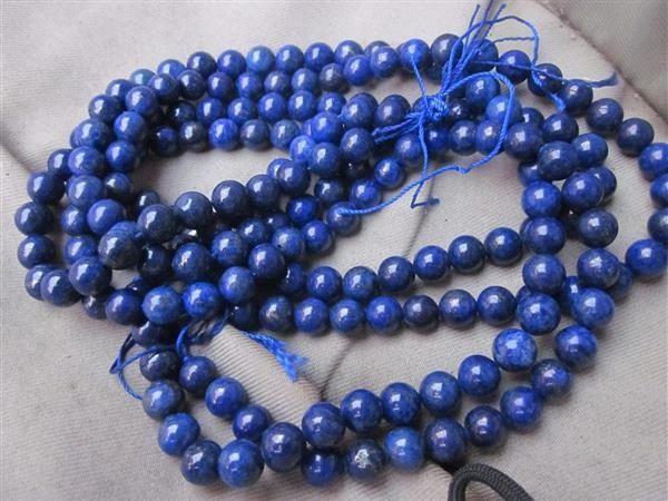 Filo di Lapis Lazuli 8 mm