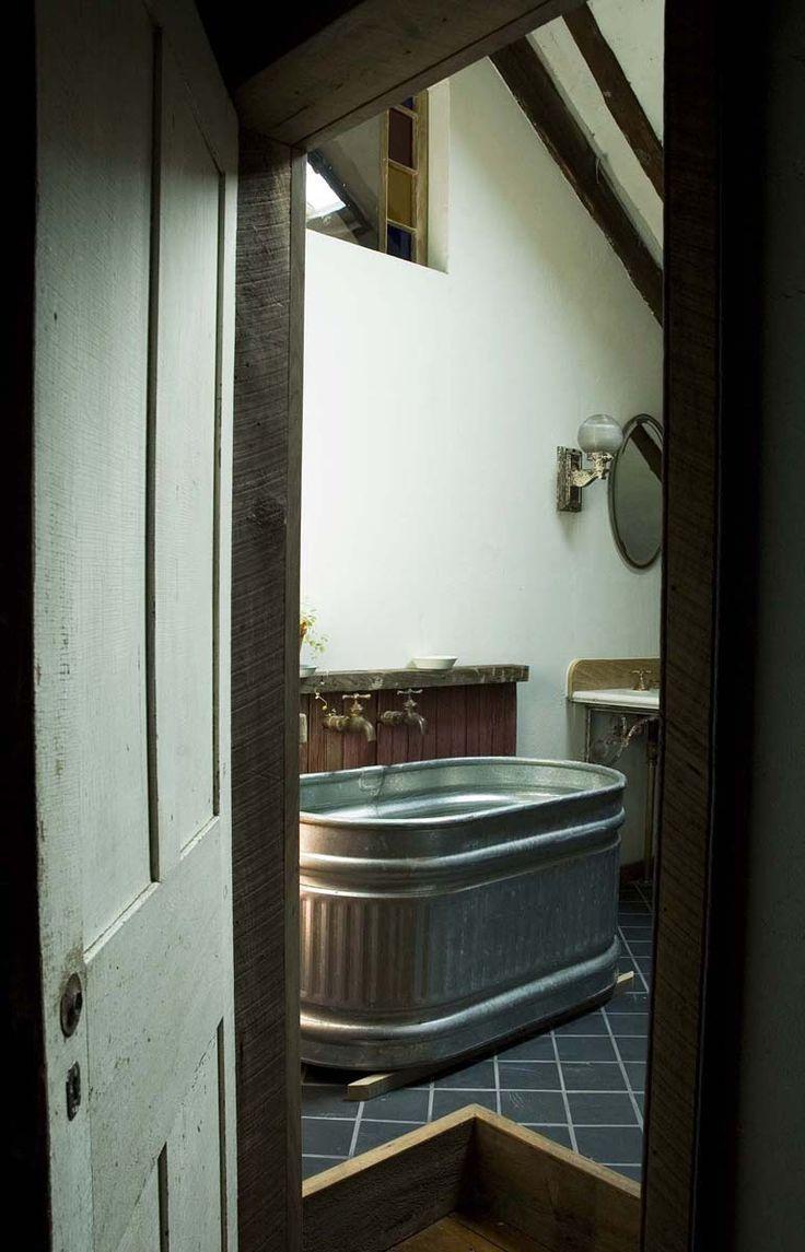 Winsome Galvanized Water Trough Hot Tub 14 Cattle Trough Bathtub