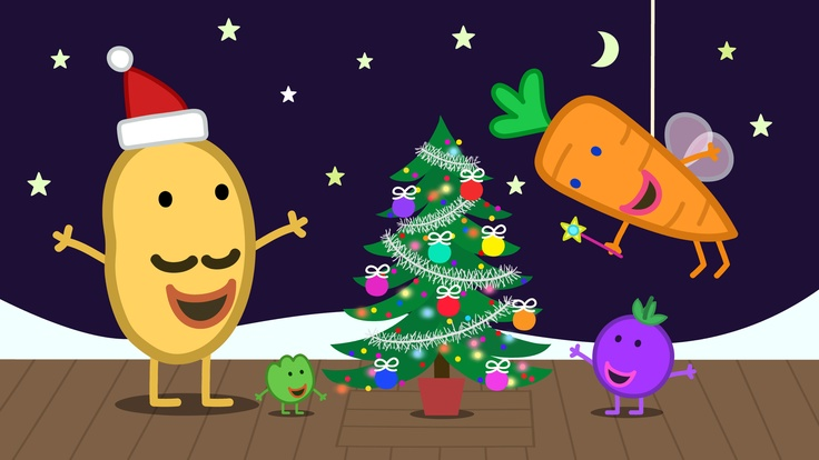Mr Potato and friends at the Christmas Show!  Peppa Pig (Vol. 17) - The Christmas Show is available on DVD now!
