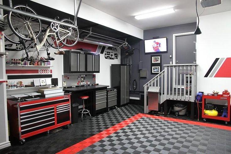 modern garage storage ideas 3 getting organized pinterest garage. Black Bedroom Furniture Sets. Home Design Ideas