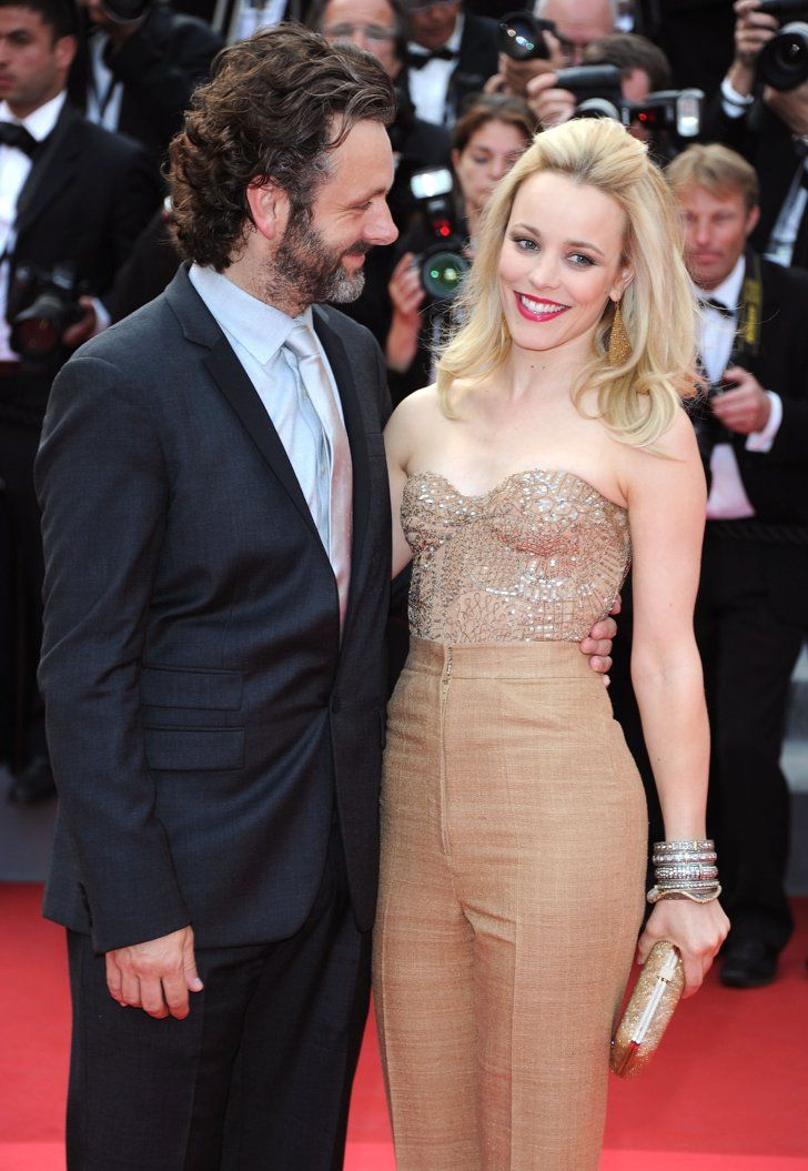 Pin for Later: L'Amour! The Hottest Cannes Couples Past and Present Michael Sheen and Rachel McAdams in 2011