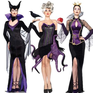 Top 5 Disney Villain Costumes #maleficent #ursula #Cruella De Ville