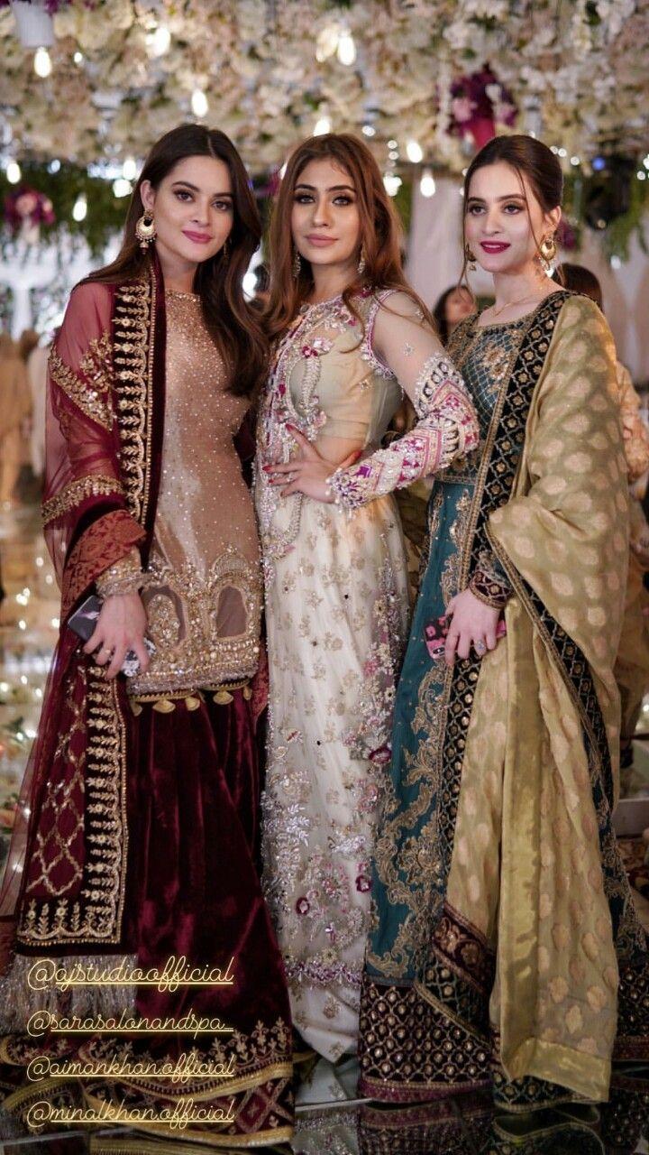 fancy wedding party dresses pakistani