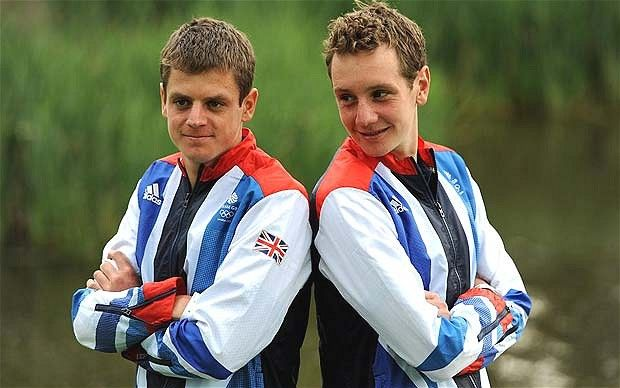 london olympics brownlee brothers get down to family affair image by www.telegraph.co.uk