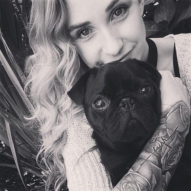 Feeling more content with life than ever before ❤️ #pug #happiness #instahappy #puglove #pugstagram #instapug #picoftheday #pugsnotdrugs #pugnation #pugpuppy #blackpug  #pugoftheday  #puglover  #pugworld  #puglovers  #pugmania #blackandwhite