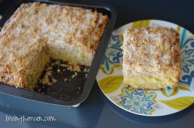 Meyer Lemon Coffee Cake Recipe — Dishmaps