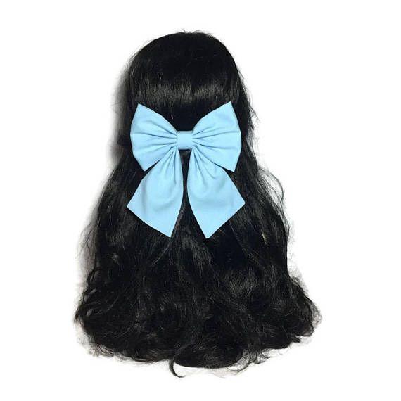 Light Blue Hair Bow