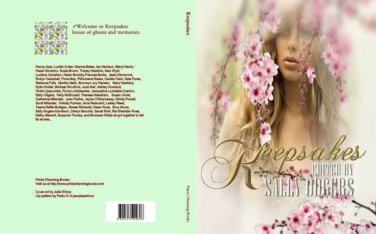 Cover of the paperback version of KEEPSAKES http://www.printscharmingbooks.com/