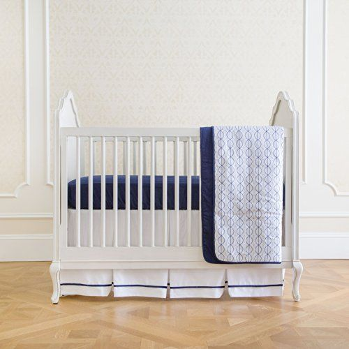 Summer Infant 4-Piece Classic Bedding Set with Adjustable Crib Skirt, Nautical Navy Summer Infant http://smile.amazon.com/dp/B00IQBQNPQ/ref=cm_sw_r_pi_dp_PkLYub0TM3B55