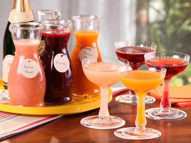 Bobby Flay's Tips for a Great Bellini Bar | Devour The Blog: Cooking Channel's Recipe and Food Blog