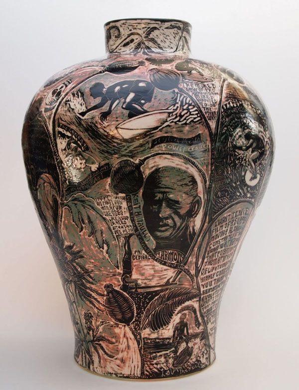 ceramic : Gerry Wedd - Undertoad {urn 1}