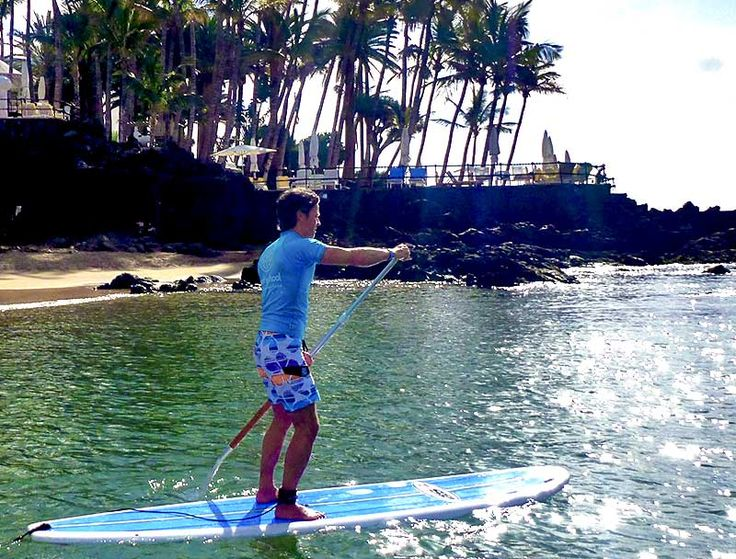 Stand up paddle, SUP in Lanzarote, Puerto del Carmen