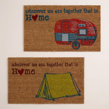 Camper doormat. WORLD MKT