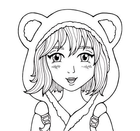 7 best malvorlagen manga + anime - kostenlos zum